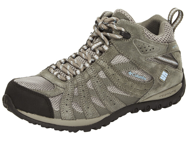 Columbia Redmond Mid Waterproof - Chaussures Femme - gris